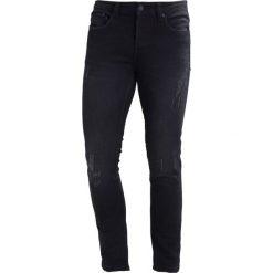 Only & Sons ONSWARP CAMP Jeans Skinny Fit black. Czarne jeansy męskie marki Only & Sons. W wyprzedaży za 135,20 zł.