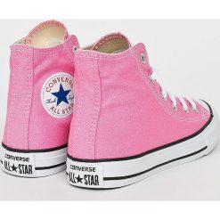 Converse - Trampki dziecięce. Różowe buty sportowe dziewczęce Converse, z gumy, na sznurówki. W wyprzedaży za 219,90 zł.
