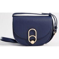 Torebka na ramię - Granatowy. Niebieskie torebki klasyczne damskie Mohito. Za 89,99 zł.