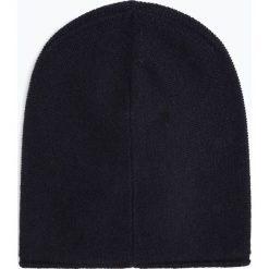 Marie Lund - Damska czapka z czystego kaszmiru, niebieski. Niebieskie czapki damskie Marie Lund, z kaszmiru. Za 229,95 zł.