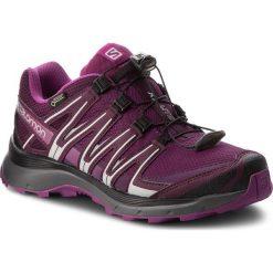 Buty SALOMON - Xa Lite Gtx W GORE-TEX 406106 21 V0 Dark Purple/Potent Purple/Hollyhock. Fioletowe buty do biegania damskie marki Salomon, z gore-texu. W wyprzedaży za 399,00 zł.