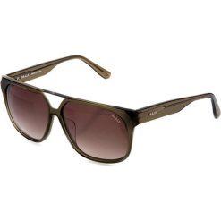 """Okulary przeciwsłoneczne """"BY4057A03"""" w kolorze khaki. Brązowe okulary przeciwsłoneczne damskie marki Triwa, z tworzywa sztucznego. W wyprzedaży za 299,95 zł."""