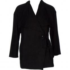 Płaszcz w kolorze czarnym. Czarne płaszcze damskie marki 101 idées, m. W wyprzedaży za 136,95 zł.