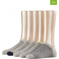 Skarpetki (5 par) w kolorze szarym. Szare skarpetki damskie marki Esprit. W wyprzedaży za 51,95 zł.