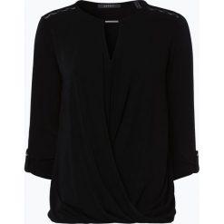 Esprit Collection - Damska koszulka z długim rękawem, czarny. Czarne t-shirty damskie Esprit Collection, m, z kopertowym dekoltem. Za 159,95 zł.