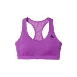 Topy sportowe damskie: Adidas Biustonosz Bacerback Bra fioletowy r. L (AP9526)