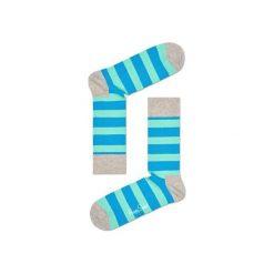 Skarpetki Happy Socks STR01-1000. Czerwone skarpetki męskie marki DOMYOS, z elastanu. Za 24,43 zł.