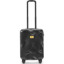 Walizka Stripe kabinowa Super Black. Szare walizki marki Crash Baggage, z materiału. Za 1049,00 zł.