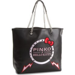 Torebki klasyczne damskie: Torebka PINKO – Hello Kitty Ribbon Maxi Shopping PE18 PLTT 1P214M Y4KD Black Z99