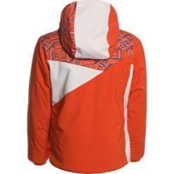 Spyder PROJECT  Kurtka narciarska burst/coral geo print/white. Czerwone kurtki chłopięce Spyder, z materiału, narciarskie. W wyprzedaży za 467,35 zł.