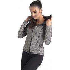 Bluzy rozpinane damskie: Gwinner Bluza damska GISA II CLIMAline szara r.M