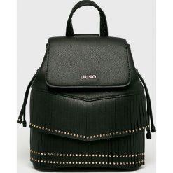 Liu Jo - Plecak. Czarne plecaki damskie Liu Jo, z materiału. Za 649,90 zł.