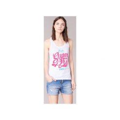 Topy damskie: Topy na ramiączkach / T-shirty bez rękawów Superdry  OSAKA BRAND