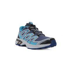 Buty do biegania Salomon  WINGS FLYTE 2. Szare buty do biegania męskie marki Salomon, z gore-texu, na sznurówki, gore-tex. Za 381,63 zł.