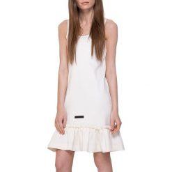 Sukienki hiszpanki: Sukienka w kolorze kremowym