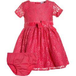 Sukienki dziewczęce z falbanami: Carter's DRESS SLEEVE BOW BABY Sukienka koktajlowa pink