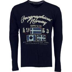 """T-shirty męskie z nadrukiem: Koszulka """"Jonstantine"""" w kolorze granatowym"""