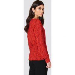 Bluzki asymetryczne: Just Female Bluzka Ellen - Red