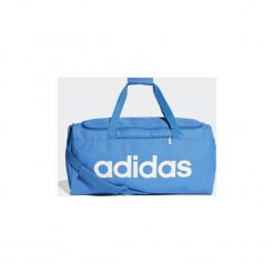 Torby sportowe adidas  Torba Linear Core Duffel Medium. Niebieskie torby podróżne Adidas. Za 129,00 zł.