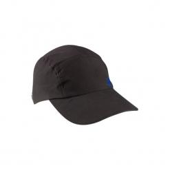 Czapka z daszkiem fitness damska czarna. Czarne czapki z daszkiem damskie DOMYOS, z materiału. Za 19,99 zł.