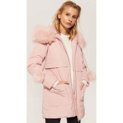 Pikowana kurtka z kapturem - Różowy. Niebieskie kurtki damskie pikowane marki House, m. Za 259,99 zł.