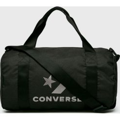 Converse - Torba. Czarne torebki klasyczne damskie Converse, w paski, z materiału. Za 149,90 zł.