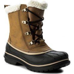 Buty zimowe męskie: Śniegowce CROCS - Allcast II Boot M 203394  Wheat/Black