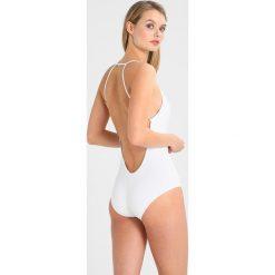 Stroje jednoczęściowe: La Perla ONYX COLLECTION SPECIAL SWIMSUIT SENZA FERRO Kostium kąpielowy white