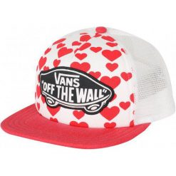 Vans Czapka Z Daszkiem Beach Girl Trucker Hat Hearts. Szare czapki z daszkiem damskie marki Vans. W wyprzedaży za 69,00 zł.