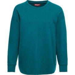 Luźniejsza bluza z miękkiego materiału bonprix kobaltowo-turkusowy. Niebieskie bluzy damskie bonprix. Za 74,99 zł.