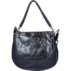 Torba - 949 PILOT-IND. Czarne torebki klasyczne damskie marki Venezia, ze skóry. Za 349,00 zł.