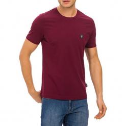 T-shirt w kolorze bordowym. Czerwone t-shirty męskie marki GALVANNI, m, z okrągłym kołnierzem. W wyprzedaży za 84,95 zł.