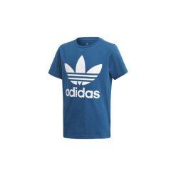 T-shirty z krótkim rękawem Dziecko  adidas  Koszulka Trefoil. Niebieskie t-shirty chłopięce z krótkim rękawem marki S.Oliver, z nadrukiem, z bawełny. Za 99,95 zł.
