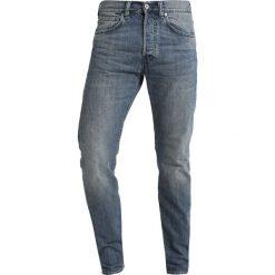 Edwin Jeansy Zwężane kingston blue denim. Niebieskie jeansy męskie regular Edwin, z bawełny. Za 419,00 zł.