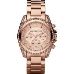 Zegarek MICHAEL KORS - Blair MK5263 Rose Gold/Rose Gold. Czerwone zegarki damskie Michael Kors. Za 1390,00 zł.