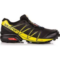 Buty sportowe męskie: Salomon Buty męskie Speedcross Pro Black/Black/Corona Yellow r. 46 2/3 (383122)