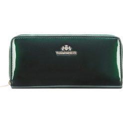 Portfel 25-1-393-0. Zielone portfele damskie marki Wittchen, z lakierowanej skóry. Za 225,00 zł.