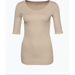 T-shirty damskie: Marc Cain Essentials – Koszulka damska, beżowy