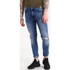 YOURTURN Jeansy Slim Fit blue denim. Niebieskie jeansy męskie YOURTURN. Za 149,00 zł.