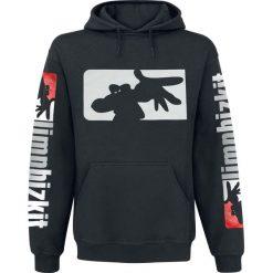 Bluzy męskie: Limp Bizkit Logo Bluza z kapturem czarny