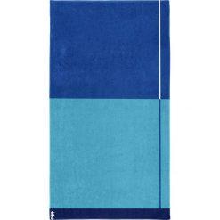 """Kąpielówki męskie: Ręcznik plażowy """"Block"""" w kolorze błękitno-niebieskim"""