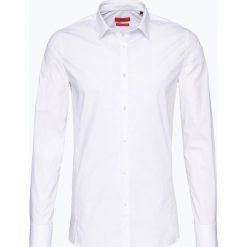HUGO - Koszula męska – Enin, czarny. Niebieskie koszule męskie marki HUGO, m, z bawełny. Za 429,95 zł.