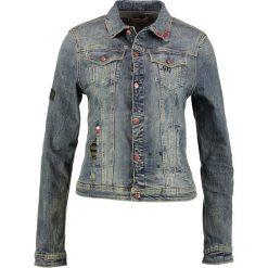 Bomberki damskie: Kaporal LOVE Kurtka jeansowa blue denim