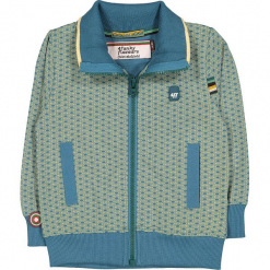 """Bluza """"See You Again"""" w kolorze zielono-błękitnym. Niebieskie bluzy chłopięce marki 4FunkyFlavours Kids. W wyprzedaży za 102,95 zł."""