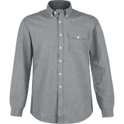 Koszule męskie na spinki: Shine Original Otto Koszula ciemnoszary (Anthracite)