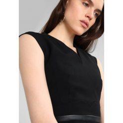 Sukienki hiszpanki: Karen Millen TAILORING COLLECTION PENCIL DRESS Sukienka etui black