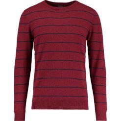 Swetry męskie: Jack & Jones JORBRETON CREW NECK Sweter cordovan