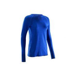 4ebaf17ad18dd2 Podkoszulka termiczna Seamless damska. Niebieskie podkoszulki damskie marki  SIMOND, xs, z wełny.