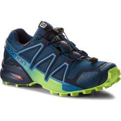 Buty SALOMON - Speedcross 4 Gtx GORE-TEX 404923 27 G0 Poseidon/Navy Blazer/Lime Green. Czarne buty do biegania męskie marki Camper, z gore-texu, gore-tex. W wyprzedaży za 489,00 zł.