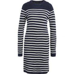 Polo Ralph Lauren Sukienka dzianinowa bright navy/collection cream. Czarne sukienki dzianinowe marki Polo Ralph Lauren, polo. W wyprzedaży za 671,20 zł.